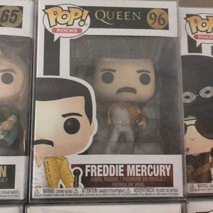 Queen Freddie Mercury Pop Rocks With case